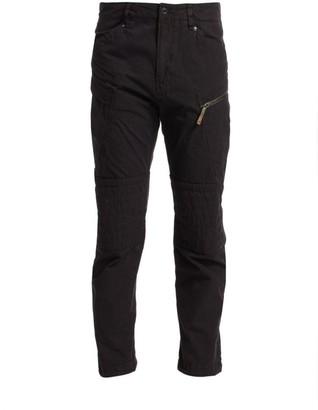 G Star Devol Paneled Zip Straight-Leg Jeans