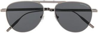Montblanc Aviator Foldable Sunglasses
