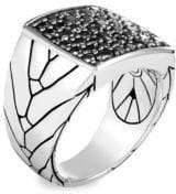 John Hardy Modern Pave Ring