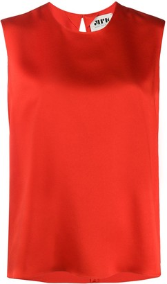 Maison Rabih Kayrouz Sleeveless Round Neck Top