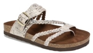 White Mountain Hayleigh Flat Sandals Women's Shoes