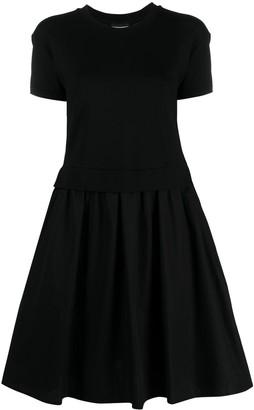 Emporio Armani Flared Cotton Dress