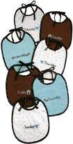 Stephan Baby Days of The Week Bib Set