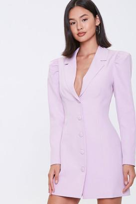 Forever 21 Mini Blazer Dress