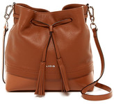 Lodis Kate Care Leather Convertible Drawstring Crossbody