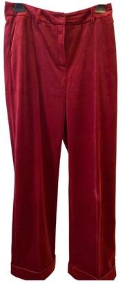 Birgitte Herskind Red Trousers for Women