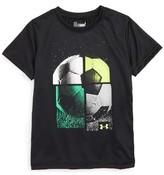 Under Armour Toddler Boy's Quarterly Graphic Heatgear T-Shirt