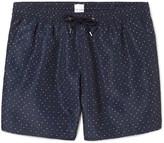 Paul Smith Slim-Fit Mid-Length Polka-Dot Swim Shorts