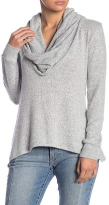 Couture Go Cowl Neck High/Low Tunic Sweater