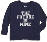 Chaser Toddler Boy's Future Is Mine Graphic Long Sleeve T-Shirt