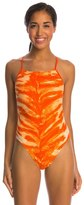 Nike Swim Electric Anomaly Cut Out Tank One Piece Swimsuit 8114689