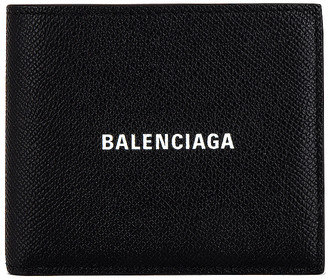 Balenciaga Billfold Wallet in Black & White   FWRD