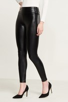 Dynamite Lace Up Faux Leather Legging