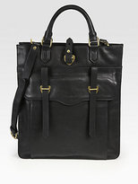 Ben Minkoff Gregger Vertical Leather Tote