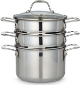 Marks and Spencer Stainless Steel 3-Tier Steamer