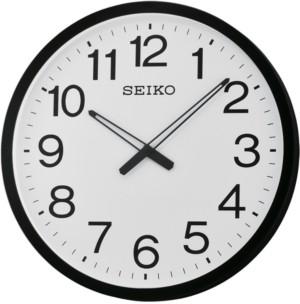 Seiko Black & White Wall Clock