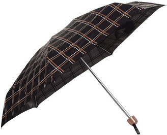 Fulton Tiny Golden Check Umbrella