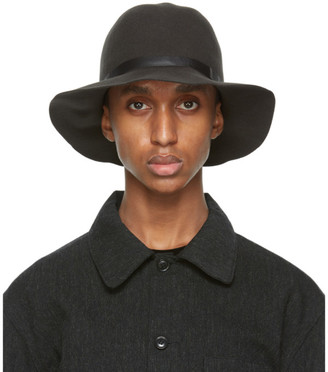 Needles Grey Felted Wool Cruiser Hat
