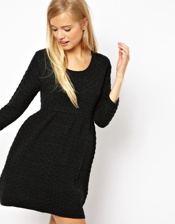 Asos Knitted Smock Dress