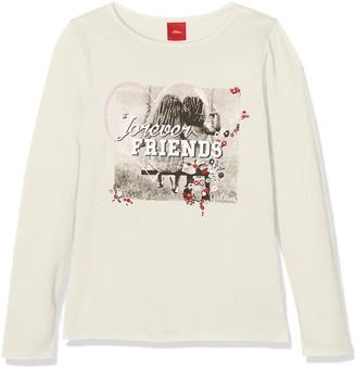 S'Oliver Girl's 53.709.31.7403 Longsleeve T-Shirt