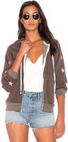 Wildfox Couture Fallen Star Hoodie in Brown. - size L (also in M,S,XS)