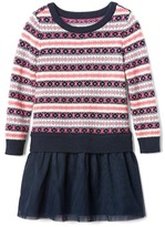 Gap Fair isle tutu dress