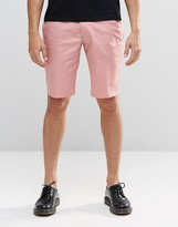 Religion Skinny Smart Shorts In Pink