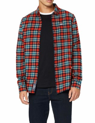 Superdry Men's Workwear L/s Shirt Casual