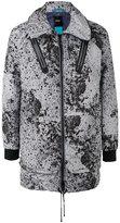 Diesel long anorak jacket