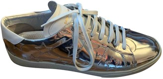 Saint Laurent Court Silver Patent leather Trainers