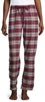 PJ Salvage Plaid Cotton Flannel Pants