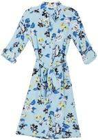 Diane von Furstenberg Kadina Floral Print Dress
