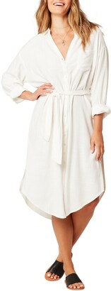 L-Space L Space Barcelona Cover-Up Shirtdress