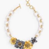 Talbots Flowers Statement Necklace