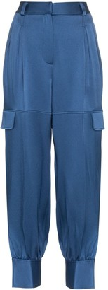 Peter Pilotto Cargo Pocket Slit Hem Trousers