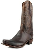 Lucchese N1662 Square Toe Leather Western Boot.