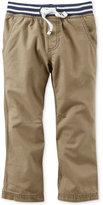 Carter's Little Boys' Khaki Utility Pants