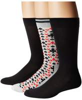 Hue Lucky 8 Socks with Half Cushion 3-Pack