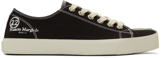 Maison Margiela Black Tabi Sneakers