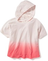 Old Navy French-Terry Poncho Hoodie for Girls