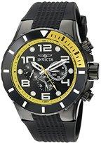Invicta Men's 18741 Pro Diver Analog Display Swiss Quartz Black Watch