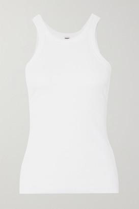 Totême Organic Cotton-jersey Tank - White