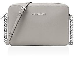 MICHAEL Michael Kors Jet Set Large Saffiano Leather Crossbody