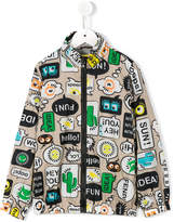 Fendi printed jacket