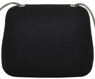 Chanel Black Cotton Millenium Hard Case Shoulder Bag