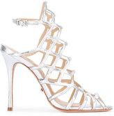 Schutz caged sandals - women - Leather - 37