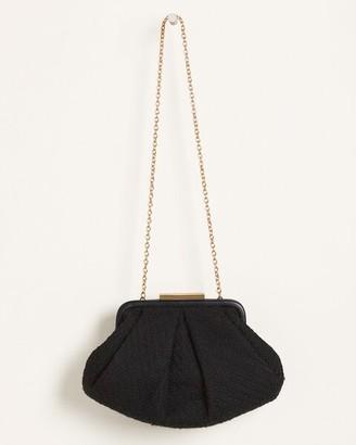 Chico's Tweed Clutch Bag