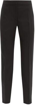 Stella McCartney Vivian Tapered-leg Wool Trousers - Womens - Black