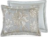 "Croscill Alexandria Floral Jacquard 18"" Square Decorative Pillow"