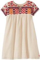 Pink Chicken Elodie Dress (Toddler/Kid) - Antique White-2 Years